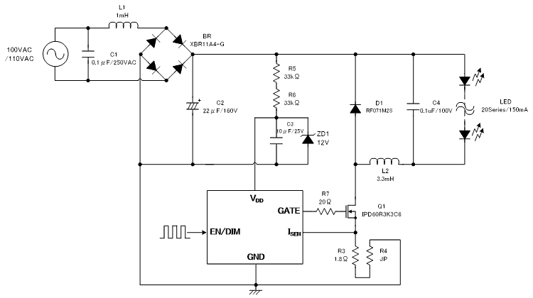Design guide for LED Lighting Controller XC9401(4/9) | Your og ... on typical ac thermostat wiring, typical ac parts, typical ignition switch diagram, coleman rv ac wiring diagram, simple ac wiring diagram, ac motor wiring diagram, typical air conditioning diagram, typical kill switch diagram, typical relay diagram,